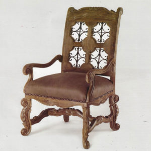Iron Star Dining Chair