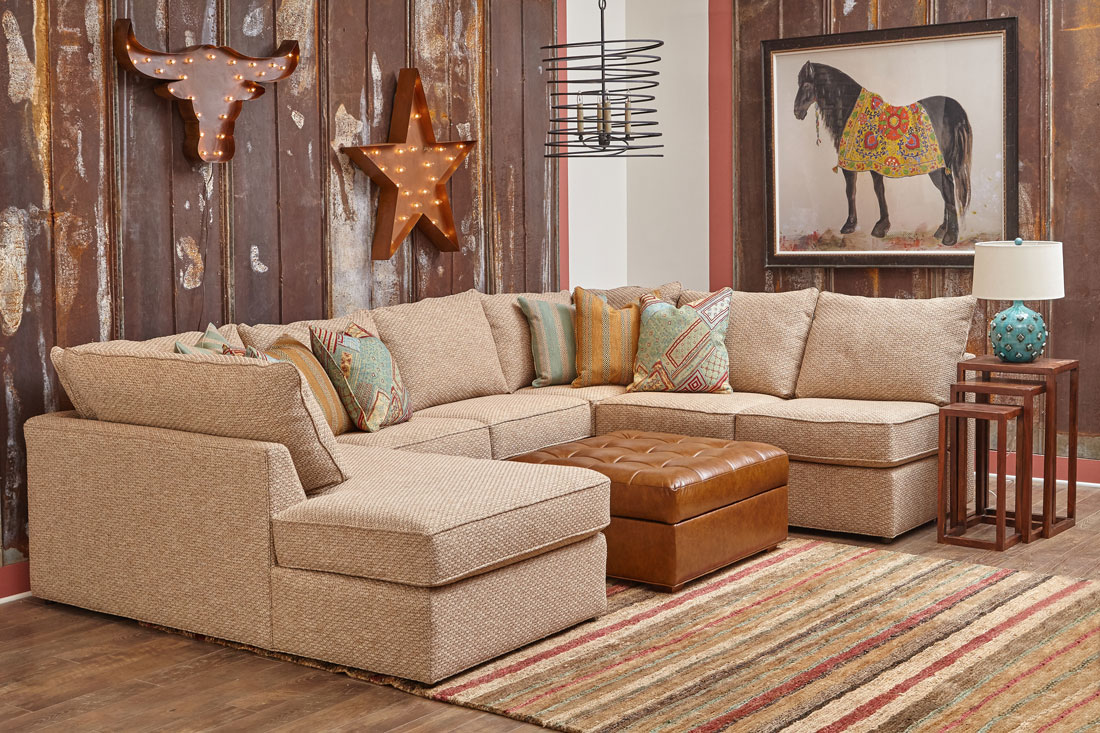 Milford Sectional Baxter Ottoman